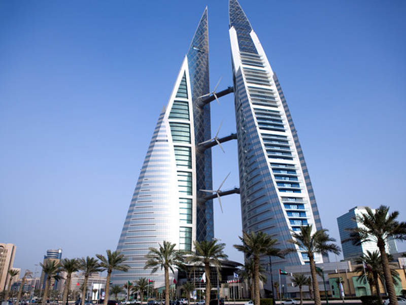Arsitektur Hijau Bahrain World Trade Center