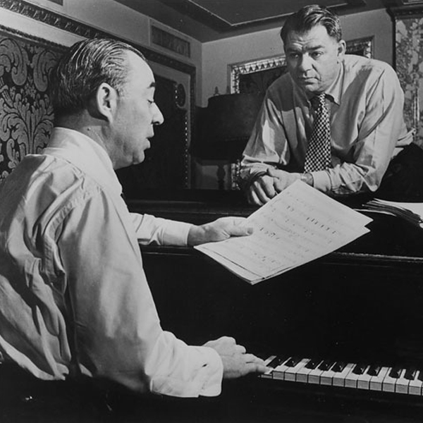 Oh, What a Beautiful Mornin karya pertama Rodgers & Hammerstein