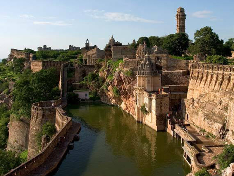 the Hill Forts of Rajasthan India